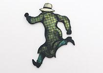 Springande Walker (grön)